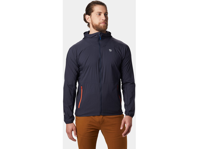 Mountain Hardwear Kor Preshell Jacket Herr dark zinc